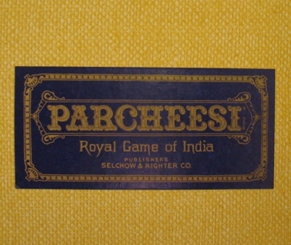 Classic Board Game PARCHEESI
