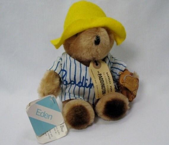 Paddington Bear Baseball Player