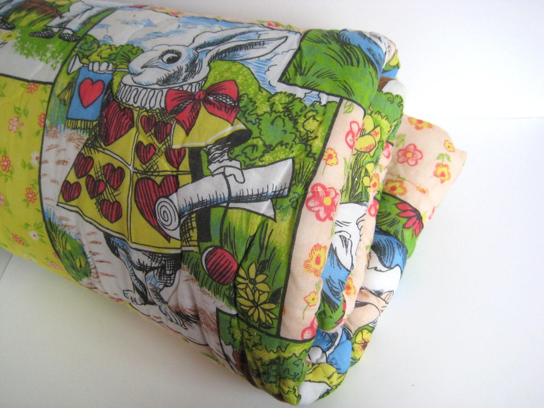 Alice In Wonderland Sleeping Bag Children S Bedding
