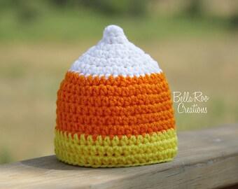 Little Candy Corn Hat