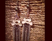 Chains & Bones Dangle Earrings