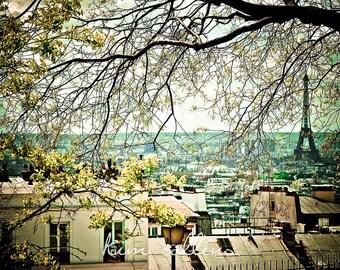 View from Montmartre-Fine Art Photography,Paris,France,multiple sizes available,Travel,Parisian,Landscape,Cityscape,View,Eiffel Tower