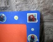 BRAVE MERIDA royal blue picture frame