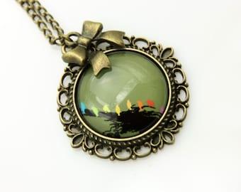 Necklace littles birds  2525C
