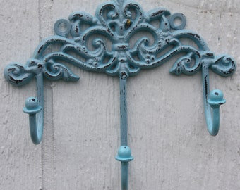 Shabby Chic Princess Hook / Jewelry Holder / Key Holder / Key Rack / Hanger / Wall Hook