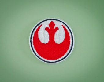 Rebel Alliance Emblem -- Star Wars Embroidered Iron-on Patch