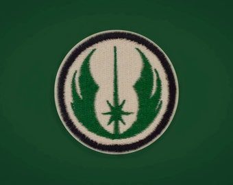 Jedi Emblem -- Star Wars Embroidered Iron-on Patch