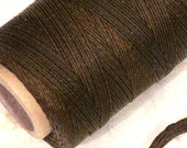 3 Yards Waxed Irish Linen Cord for knotting bracelets and necklaces, jewelry making supply (3 ply) BROWN or BLACK