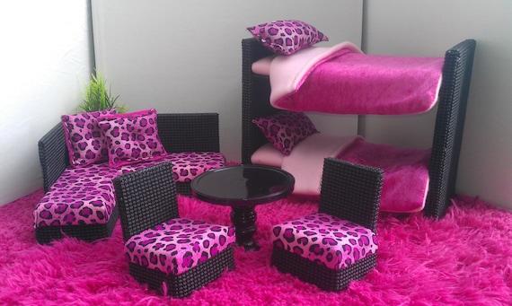 New Bunkbeds For Barbie Or Monster High Dolls Complete