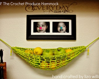 R & R The Crochet Produce Hammock