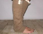 SALE...SALEGold Leg Warmer Boot Sock