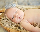 Baby Lace Crown, Baby Headband, Newborn Headband, Headband, Toddler Headband, Infant Headband, Photo Prop