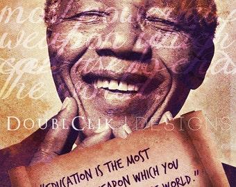 Nelson Mandela Poster