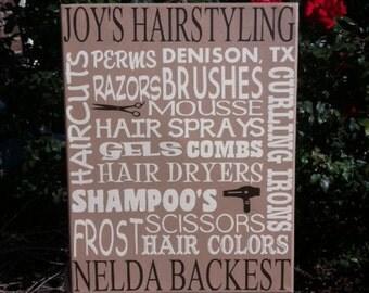 HairDresser Sign