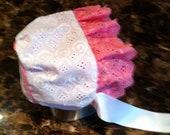Extra Small (newborn) Sun bonnet