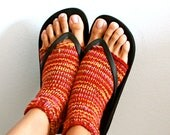 Custom Yoga Socks - Toeless - Knit Stirrup Socks for Women - VARIOUS COLORS AVAILABLE