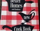 1953 Better Homes and Gardens New CookBook 3 Ring Binder 1st Edition by TheRetroCafe on Etsy