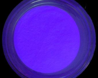 Lavender - Purple Glow in the Dark Pigment Powder 2oz