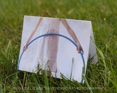 Hula Hoop in the Sky card set. Blank note cards