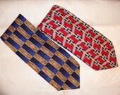 Vintage Robert Talbott Ties, Set