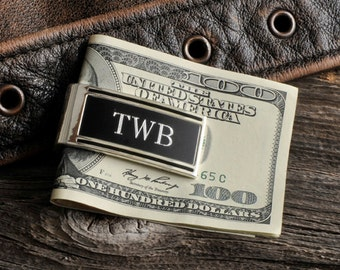 Millionaire Money Clip - Personalized - Engraved Monogram - Gifts for Men - (845)
