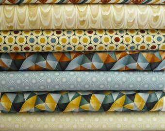 Modernist by Timeless Treasures 10 Fat Quarters 10 FQ