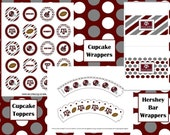 Texas A&M Aggie Football Viewing-Party Printables
