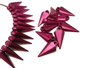 Matted Maroon Spikes, 24 PCS, 24mm
