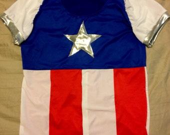 All american Women's Running Shirt