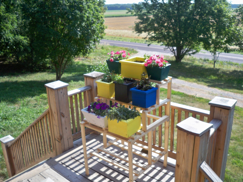 flower pot shelf stand window flower box shelf stand wood
