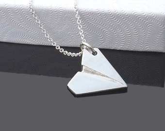 Gift-one direction pendant necklace-paper airplane pendant necklace-Directioner-1D Harry Style-airplane pendant,Valentine's Day gift