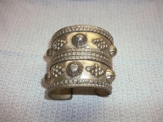 Vintage Decorative Cuff Bracelet