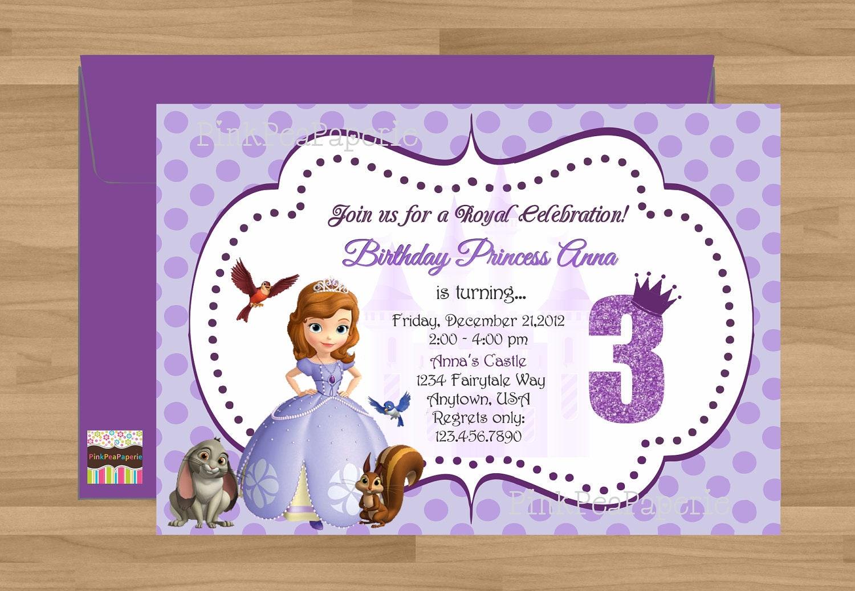 Free printable sofia the birthday invitations 28 images princess free printable sofia the birthday invitations princess sofia birthday invitations ideas bagvania free printable invitation template stopboris Gallery