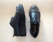 AUS 7 studded flatform creeper shoes so GOOD