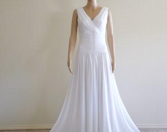 Wedding Dress.White Prom Dress.Bridesmaid Dress.Party Dress