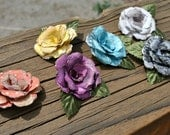 Paper Flowers - Embellishments - Paper Roses
