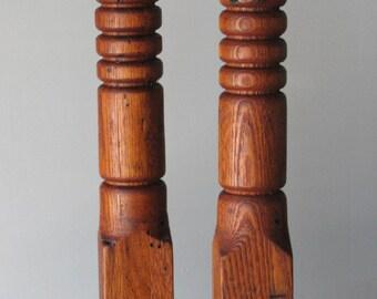 Candle holder - Candlestick - Wood Candlestick 2 - Turned candlestick - Hardwood