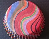 Astrid Swirl Design Cupcake liners by Vestli House (50 liners)