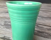 Original vintage fiestaware green water tumbler