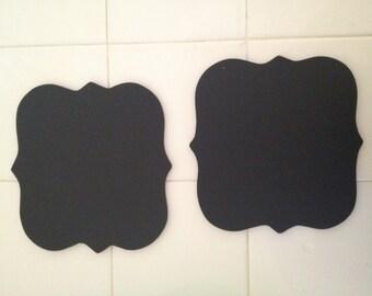 2 mini chalkboards