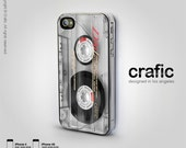 Clear Vintage Cassette IPHONE CASE   iPhone 6/6S   iPhone 6/6S Plus   iPhone 5/5S   iPhone 5C   iPhone 4/4S   retro, classic, cool, best