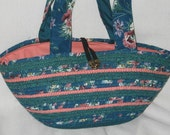 Teal Peachy purse great for a day out