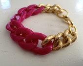 Lilac Chain Bracelet