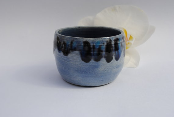 Small Blue Bowl, Ideal for Salt, Spices, Dips or Precious Things, Tiny Decorative Bowl