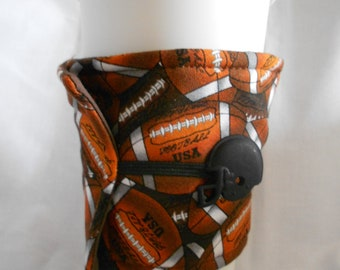 Football Coffee Cozy