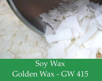5 lbs. Soy Wax Flakes - GW415 - All Natural Soy Wax for Candle Making.