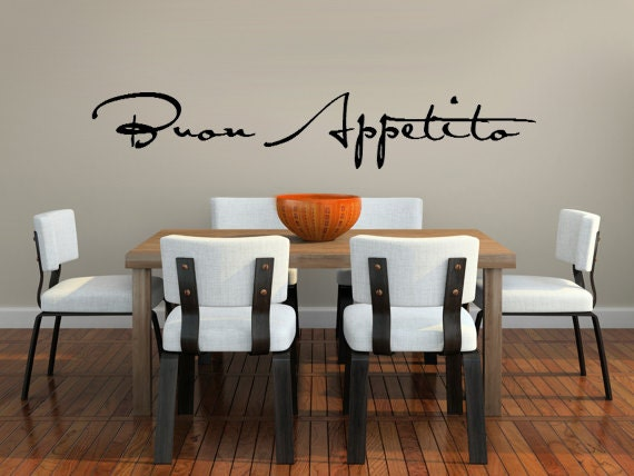 Vinyl wall decals for kitchen