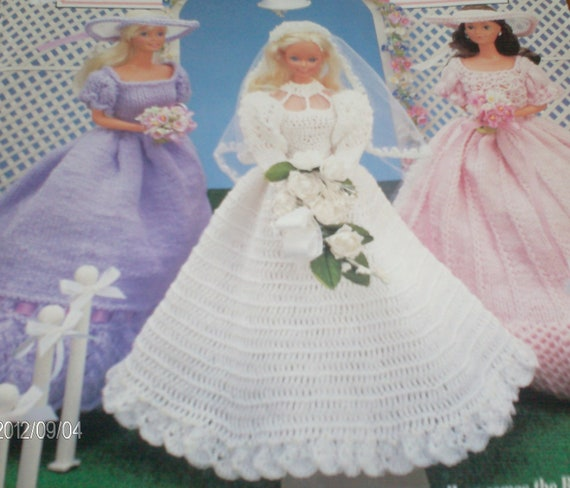 Barbie Wedding Vintage Crochet Pattern Plus Two by ...