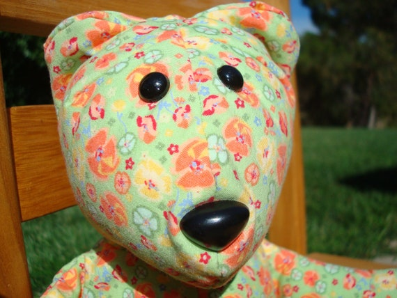 Custom Memory Bear Made From Your Little One's Clothing