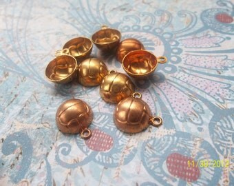 3 Vintage Brass Volley Ball Stamping  ...   B - 13